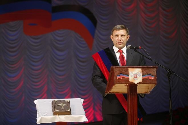 Ορκίζονται οι νέοι «πρόεδροι» στην ανατολική Ουκρανία