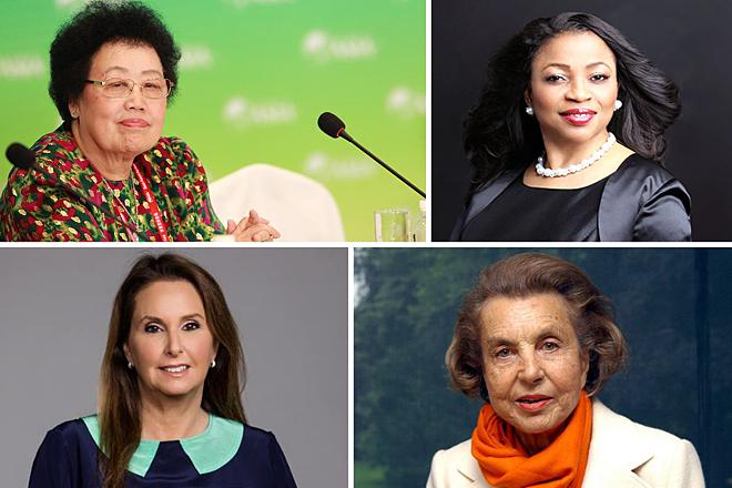 Οι πλουσιότερες γυναίκες του κόσμου