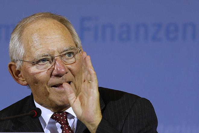 Δέκα δισ. ευρώ για την τόνωση της γερμανικής οικονομίας υποσχέθηκε ο Σόιμπλε