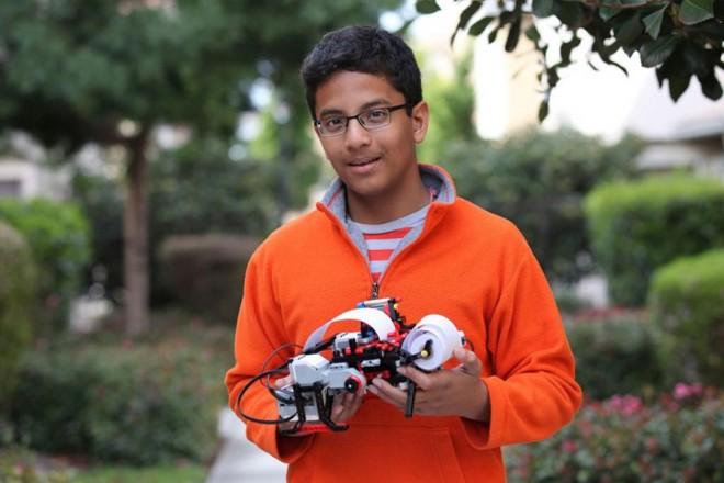 Ένας μόλις 13 χρονών εφευρέτης – επιχειρηματίας