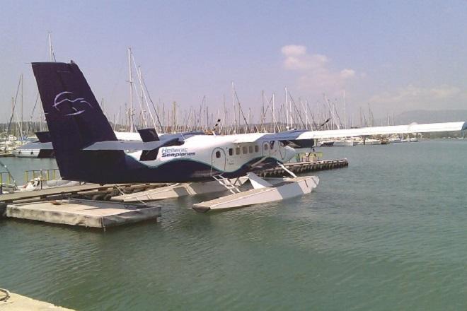 Να ξεκινήσει τις πτήσεις με υδροπλάνα μέσα στο 2015 ελπίζει η Hellenic Seaplanes