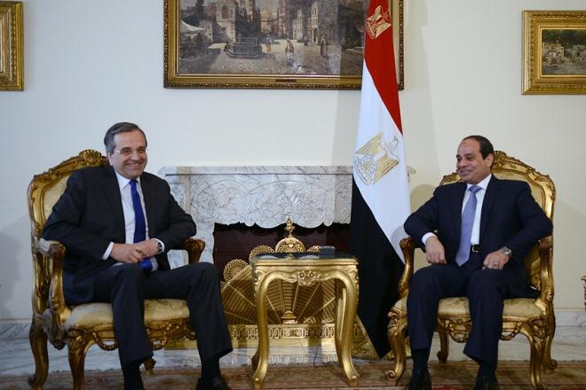 Σύσφιξη της ελληνοαιγυπτιακής φιλίας και συνεργασίας