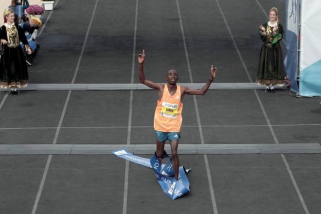 winner of marahton