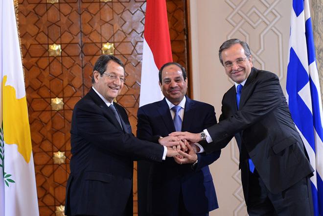 Η διακήρυξη του Καΐρου μεταξύ Ελλάδας-Κύπρου-Αιγύπτου