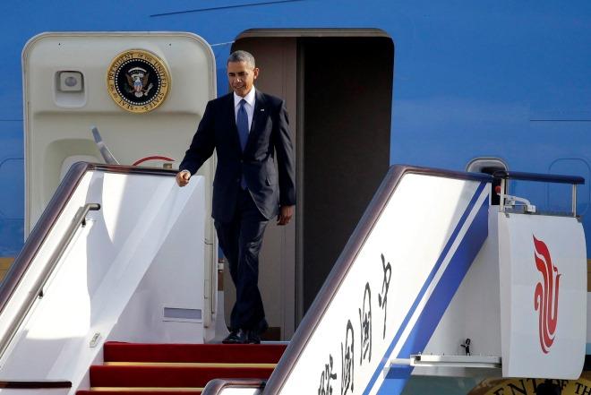 Στην Κίνα ο Μπάρακ Ομπάμα