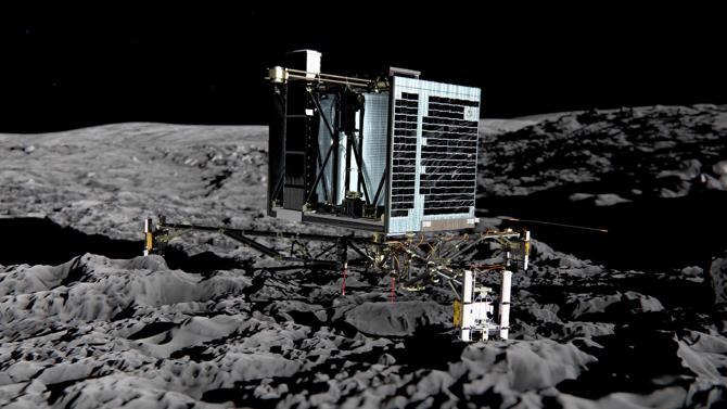 Για πρώτη φορά επιχειρείται προσγείωση σε κομήτη
