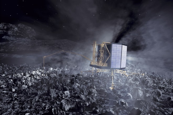 Live η πρώτη προσγείωση ρομπότ σε κομήτη