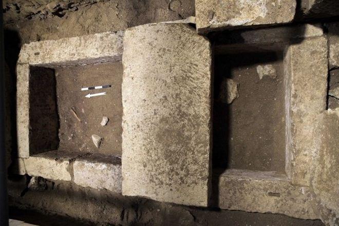 Αμφίπολη: Βρέθηκε σκελετός σε τάφο κάτω από τον τρίτο θάλαμο