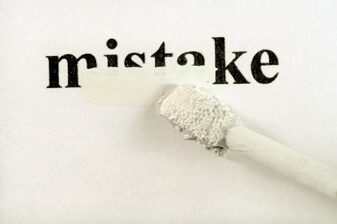 Το καλύτερο λάθος που έκανα ποτέ; Τα θαλάσσωσα στην πρώτη μου δουλειά!