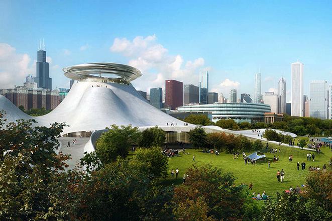 Ματιά από το μέλλον του μουσείου Star Wars