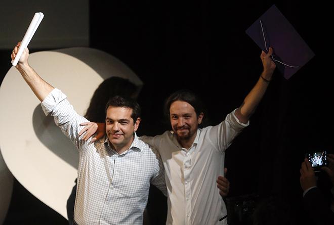 Guardian: Από τον ΣΥΡΙΖΑ στο Podemos