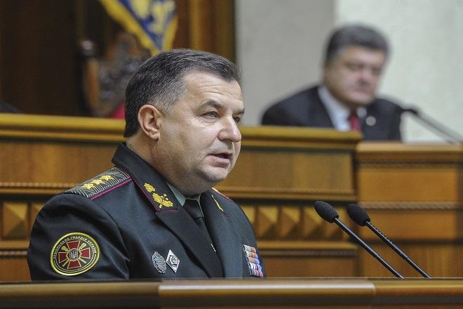 Την παρουσία 7.500 Ρώσων στρατιωτών στη χώρα καταγγέλλει ο υπ. Άμυνας της Ουκρανίας