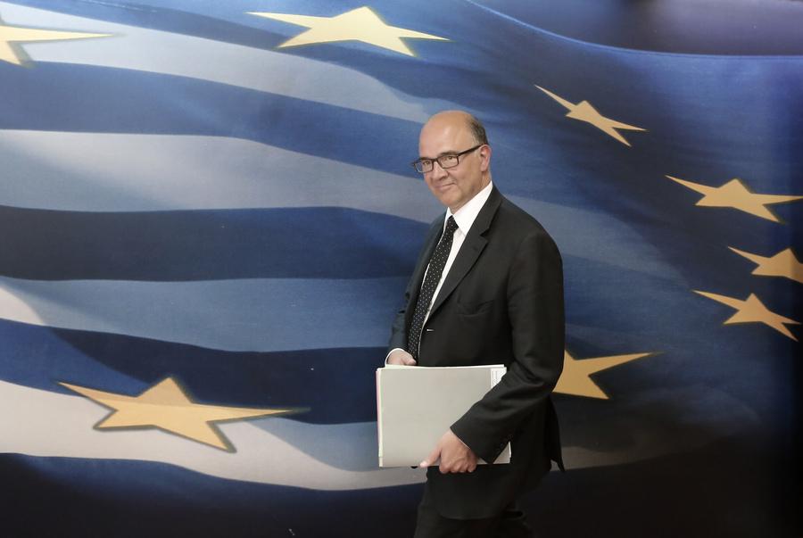 Παραμένει στη γραμμή της ανάγκης μεταρρυθμίσεων στην Ελλάδα ο Μοσκοβισί