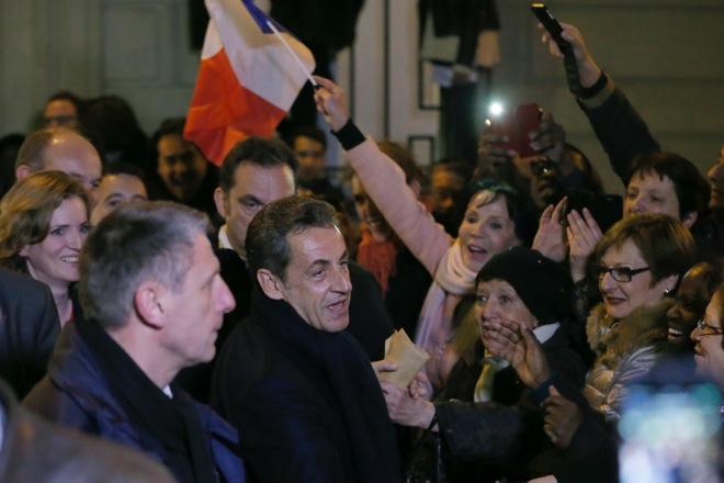 Ο Νικολά Σαρκοζί και πάλι στο τιμόνι των Γάλλων Συντηρητικών
