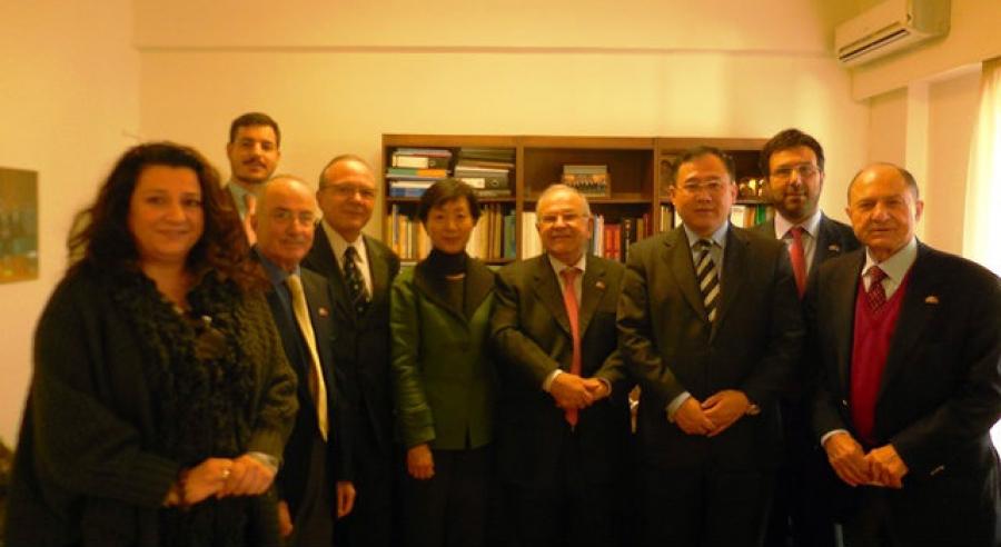 Στόχος η διεύρυνση των κινεζικών επενδύσεων στην Ελλάδα