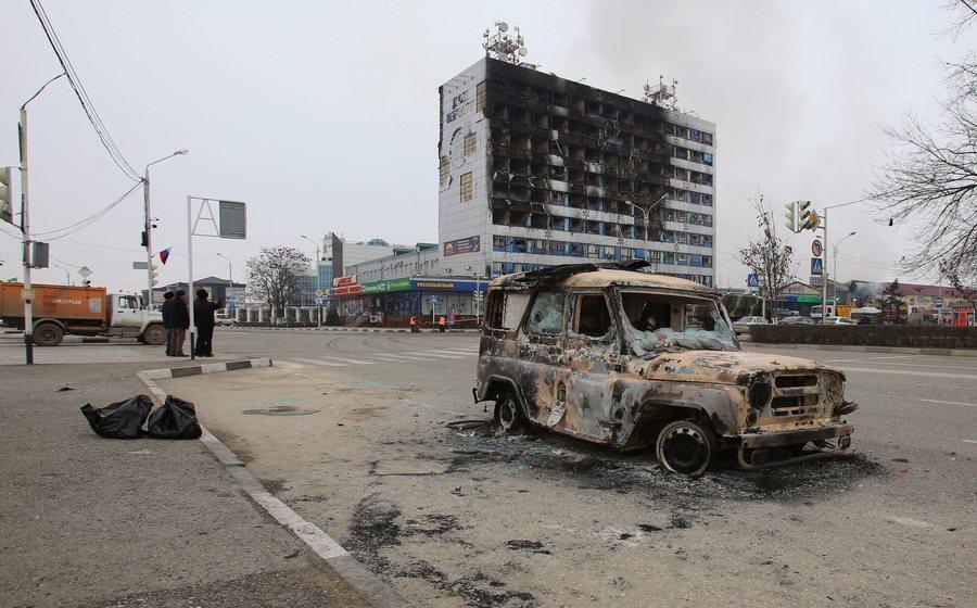 Στους 24 οι νεκροί από τη χθεσινή επίθεση ανταρτών στο Γκρόζνι