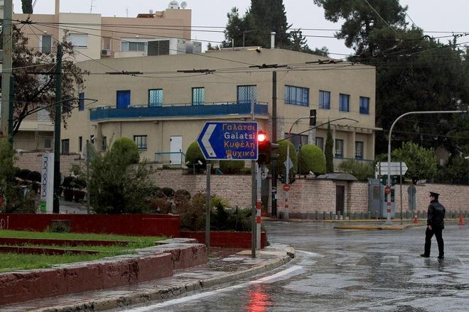 Ένοπλη επίθεση στην πρεσβεία του Ισραήλ στην Αθήνα
