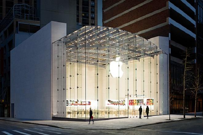 Ανοίγει τον Φεβρουάριο το μεγαλύτερο κατάστημα Apple store