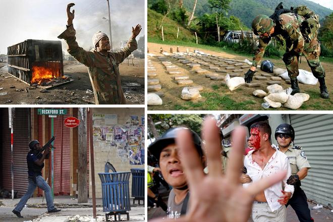 Σε αυτές τις περιοχές η βία «χτυπάει κόκκινο»