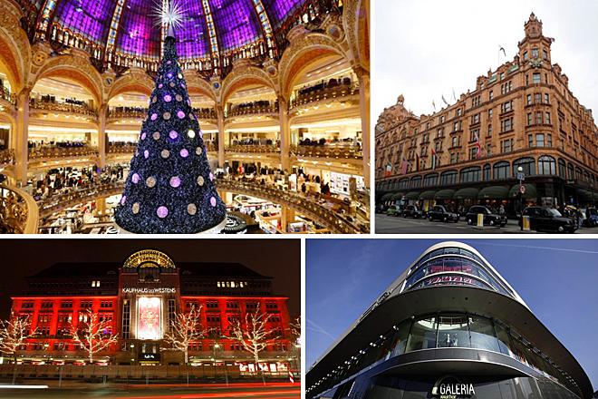 Τα καλύτερα ευρωπαϊκά πολυκαταστήματα