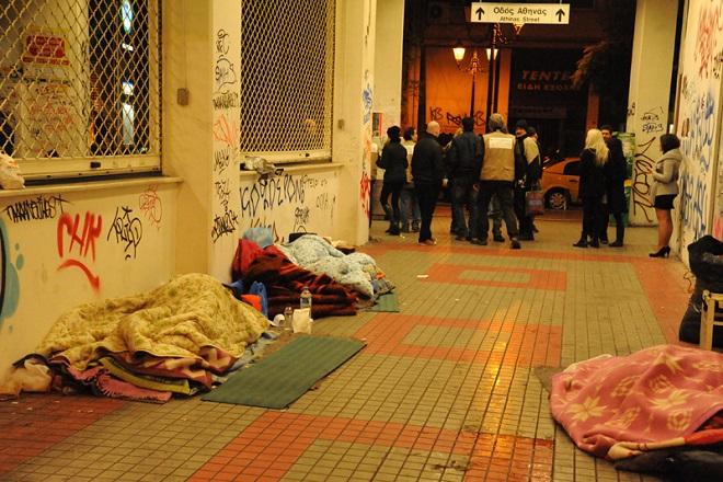 Μέτρα για τους αστέγους από τον δήμο Αθηναίων λόγω επιδείνωσης καιρού
