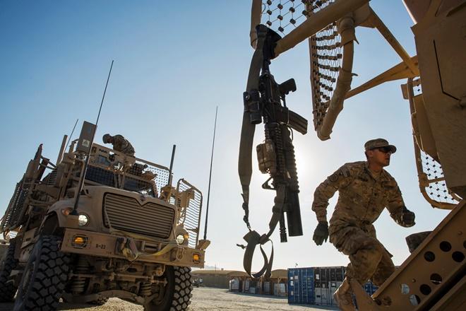 Τα μάχιμα στρατεύματα του ΝΑΤΟ αποχωρούν από το Αφγανιστάν