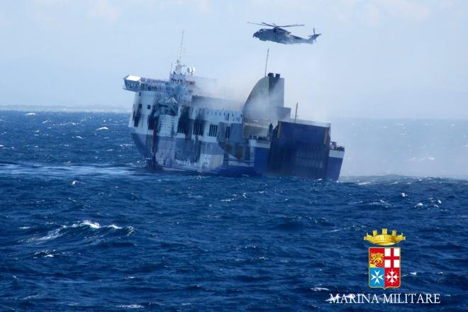 Μετάλλια στα πληρώματα των Ενόπλων Δυνάμεων για το Norman Atlantic
