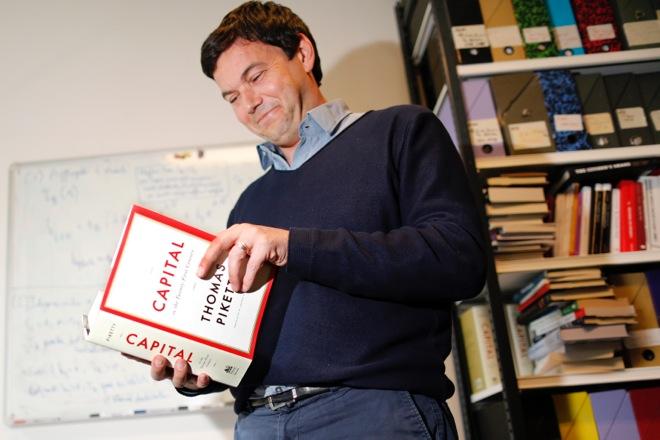 Απέρριψε τη «Λεγεώνα της Τιμής» ο Γάλλος οικονομολόγος Τομά Πικετί