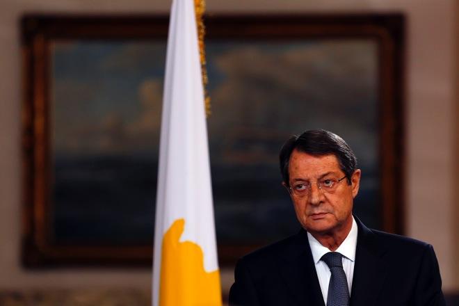 Ισχυρή εντολή στις εκλογές της Κυριακής στην Κύπρο ζητά ο Νίκος Αναστασιάδης