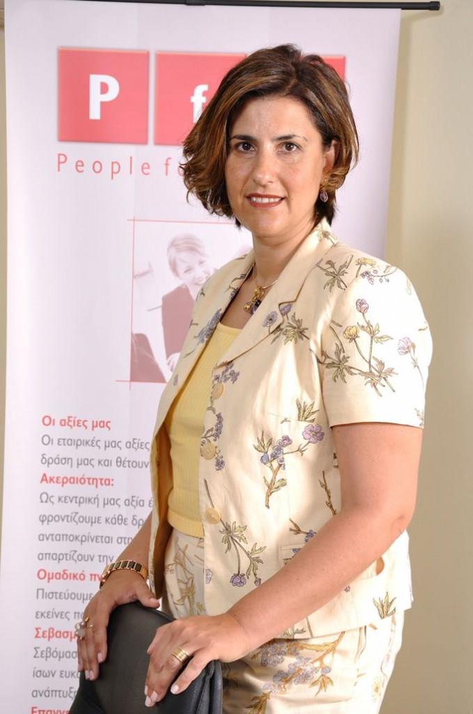 Η Ρεβέκκα Πιτσίκα, CEO της People for Business και του Kick Athens Initiator.