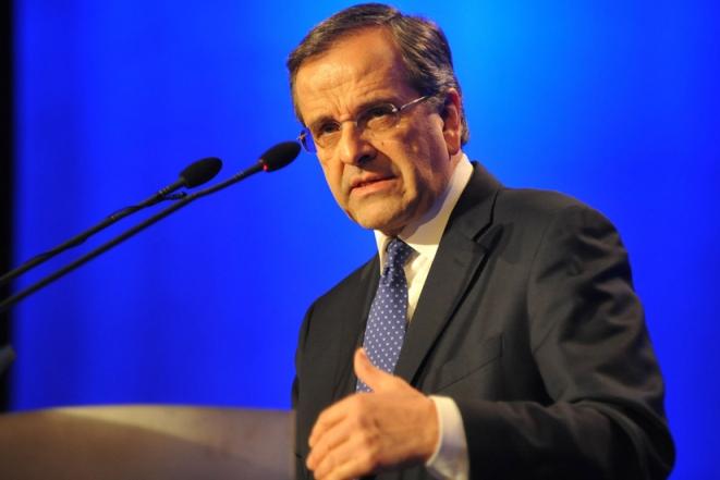 Δέσμευση Σαμαρά για επίλυση της  κατάστασης μετά τις εξελίξεις με το ελβετικό φράγκο