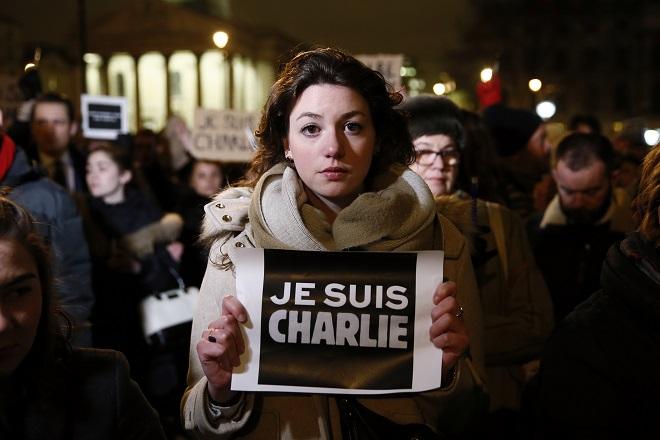 Είμαστε όλοι Charlie…