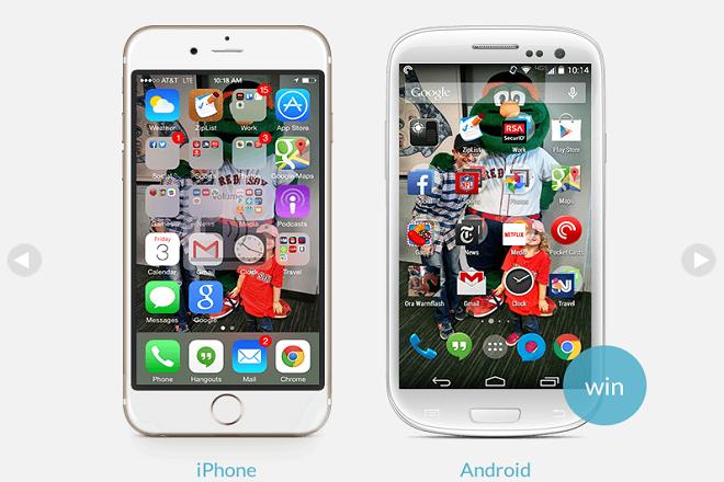 Как сделать из смартфона iphone
