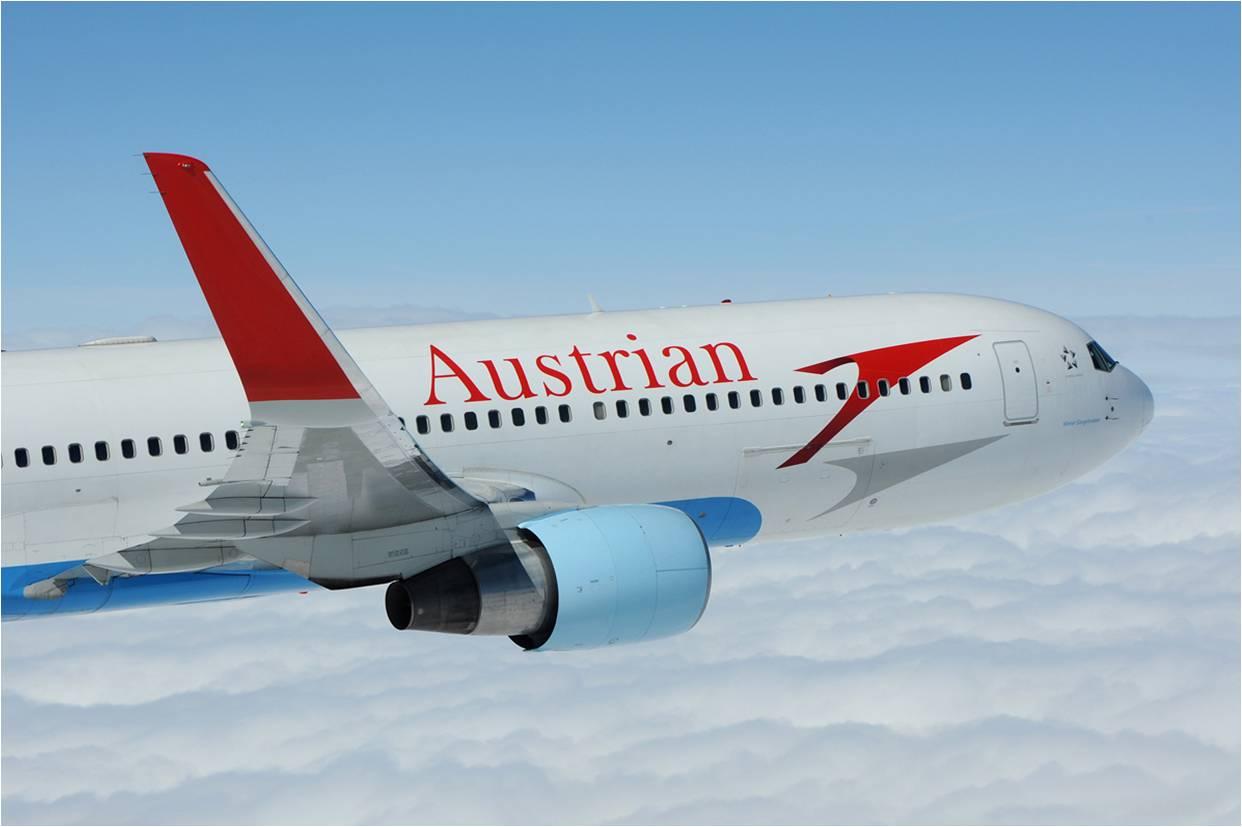 Περισσότερες πτήσεις προς Αθήνα, από την Austrian Airlines