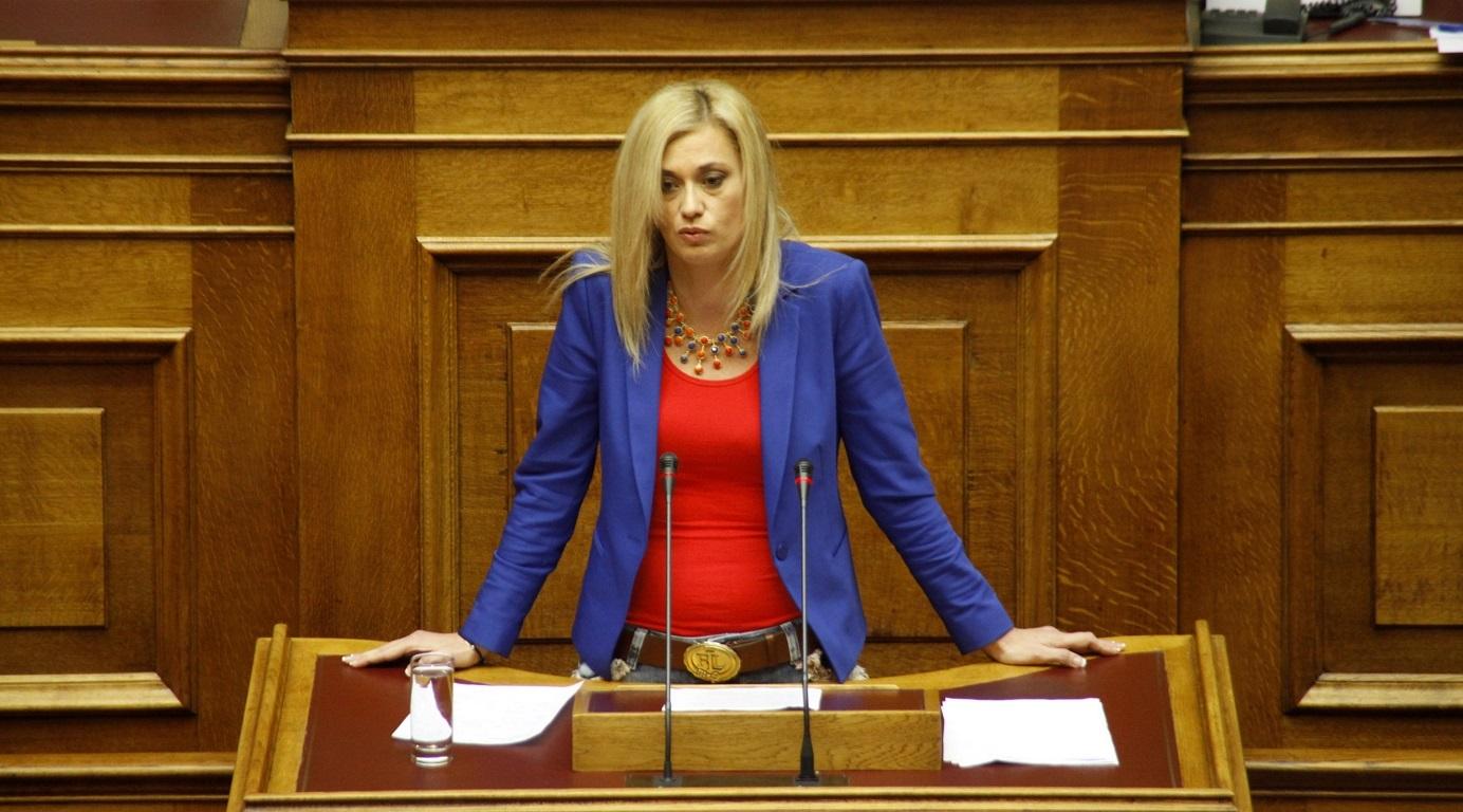Ραχήλ Μακρή: Αν χρειαστεί θα κόψουμε μόνοι μας 100 δισ. ευρώ!