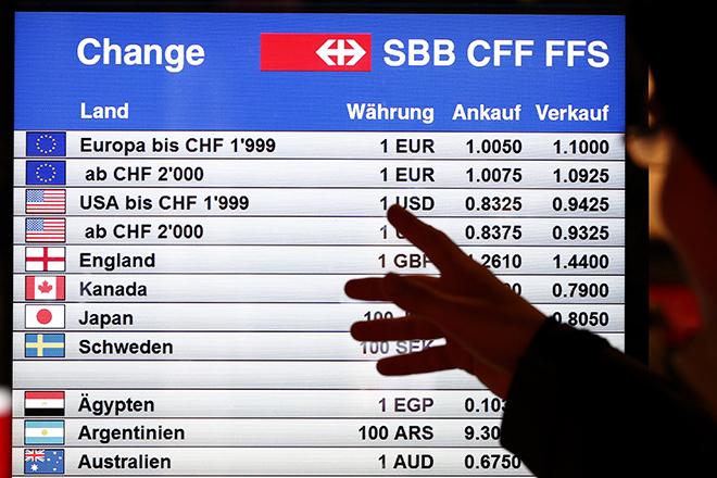 Δέκα λόγοι που «έσπασε» η ισοτιμία ελβετικού φράγκου/ευρώ