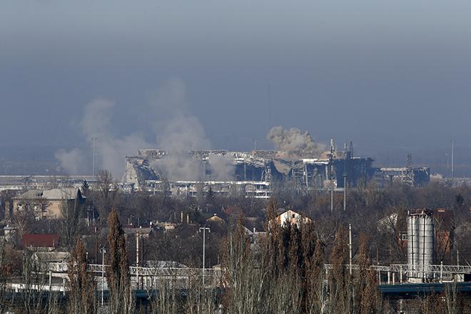 Σφοδρές συγκρούσεις στο αεροδρόμιο του Ντονιέτσκ