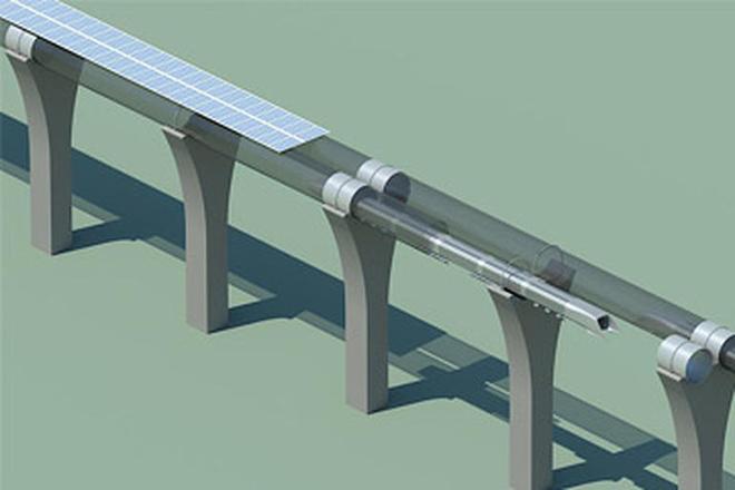 Ο Elon Musk κατασκευάζει το Hyperloop