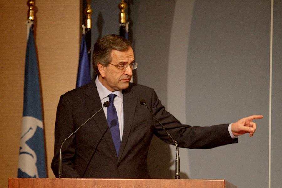 Σαμαράς: «Χωρίς μνημόνια δεν υπάρχει ΣΥΡΙΖΑ και μόνο με ΣΥΡΙΖΑ θα υπάρξουν μνημόνια»