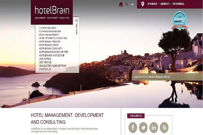 Στη διαχείριση της HotelBrain εντάσσονται 12 νέες ξενοδοχειακές μονάδες