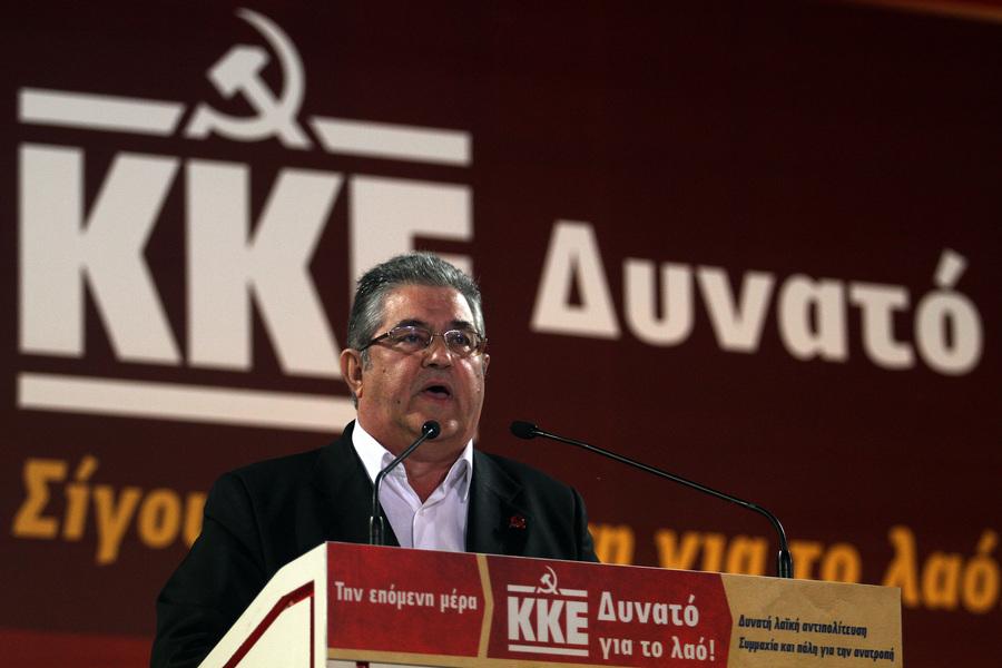 Κουτσούμπας: Για να έχει ο λαός πραγματική ελπίδα χρειάζεται δυνατό ΚΚΕ
