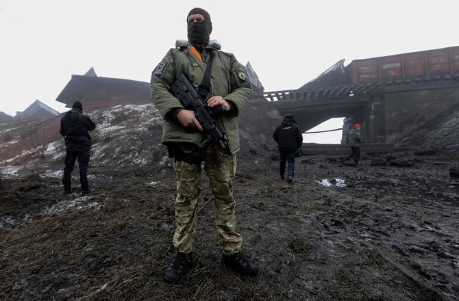 Βομβαρδισμοί στην τελευταία μεγάλη πόλη της ανατολικής Ουκρανίας