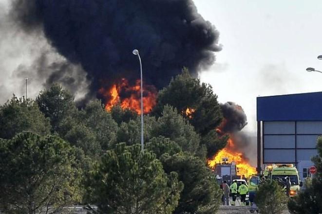 Τραγωδία στην Iσπανία: Συνετρίβη F-16 της ελληνικής Πολεμικής Αεροπορίας – 10 νεκροί και 13 τραυματίες