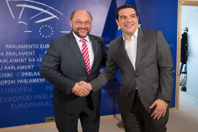 Μάρτιν Σουλτς: «Κορυφαία αλλαγή στην Ελλάδα, θα επηρεάσει την Ευρώπη»