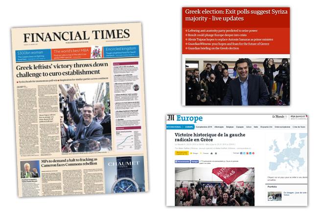 Πως σχολίασαν τα ξένα ΜΜΕ τις ελληνικές εκλογές