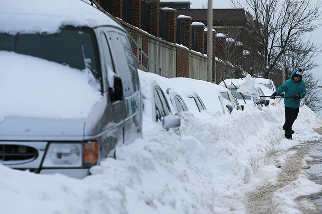 50 δολάρια πρόστιμο στον υπουργό Εξωτερικών των ΗΠΑ επειδή δεν φτυάρισε το χιόνι!