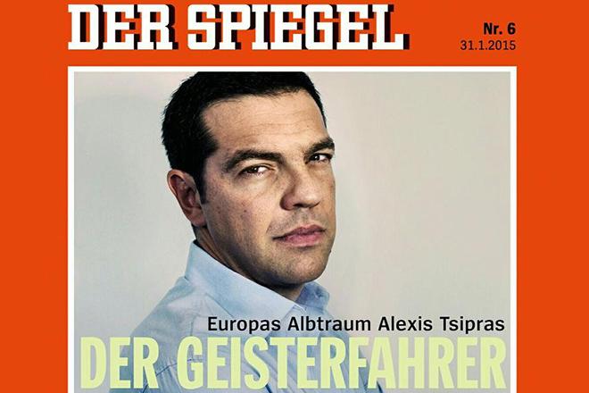 Το Spiegel αποκαλεί τον Τσίπρα «εφιάλτη της Ευρώπης»