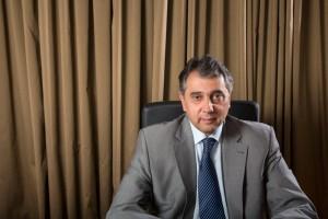 O πρόεδρος της ΕΣΕΕ, Βασίλης Κορκίδης.
