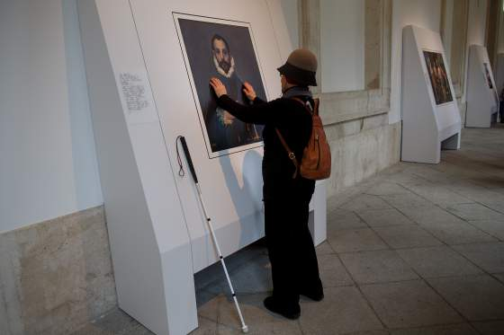 Paintings For Vision-Impaired People At The Prado Museum