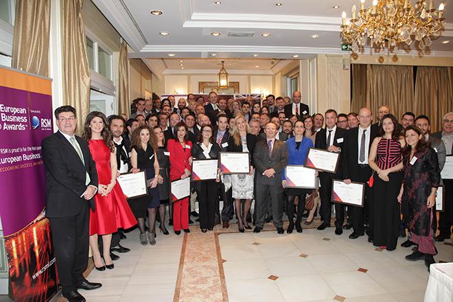Επτά ελληνικές εταιρείες στην ελίτ των European Business Awards